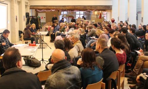Voorstelling van Het Cliëntenbureau in buurtcentrum Sluizeken